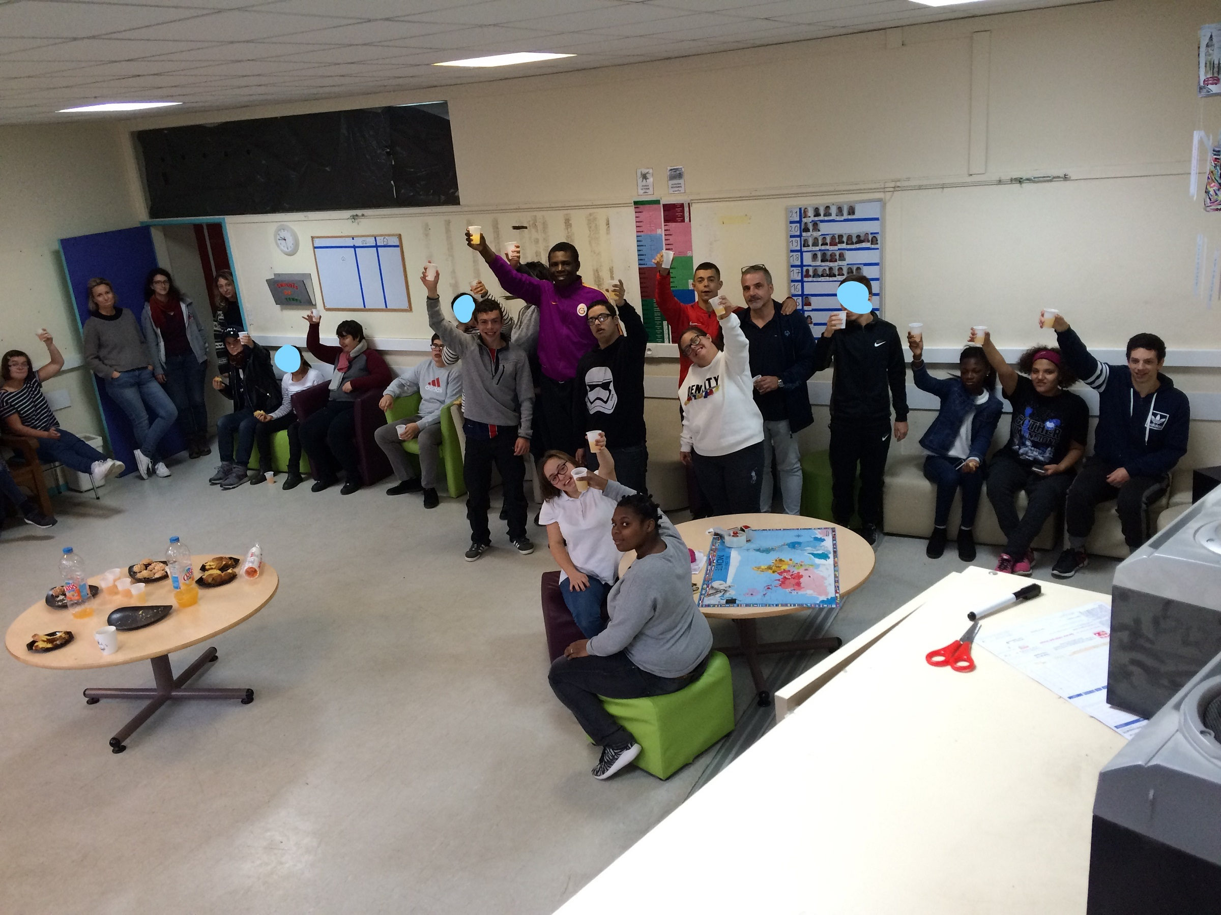 Rencontre avec les élèves de l'IME Pierre Duplaa